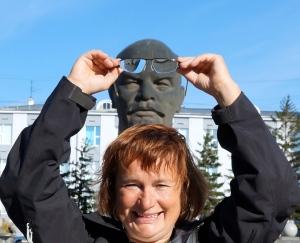 der größte Lenin Kopf der Welt