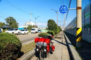 Fahrradweg Donghae - Südkorea