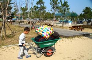 Koreaner lieben campen