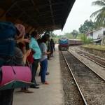 Zugfahrt nach Colombo