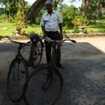 Radtour mit Ratnasiri