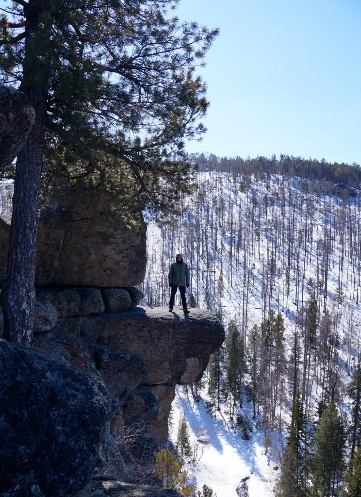 Dima auf dem Sibiriak