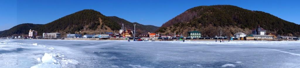 Listwjanka vom Baikalsee aus
