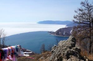 Blick auf die Ankara u. Port Baikal