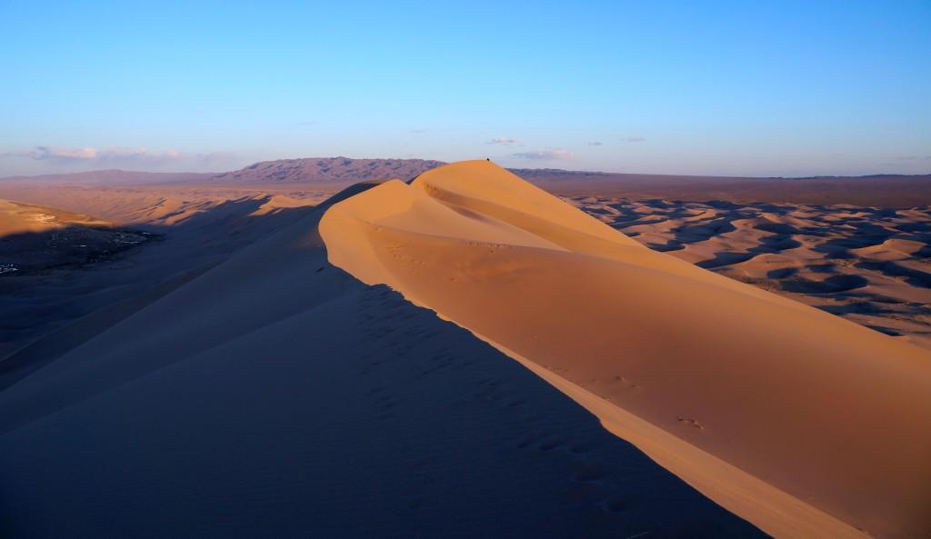auf der Singenden Düne: Khongoryn Els