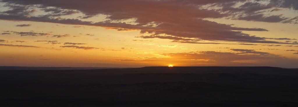 Wüste Gobi: Sonnenaufgang