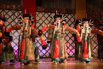 Trachtentanz Mongolei