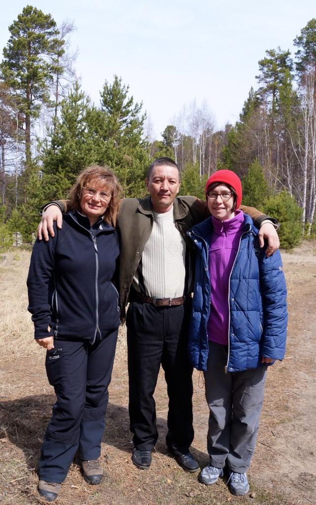 mit Tamara und Pótr