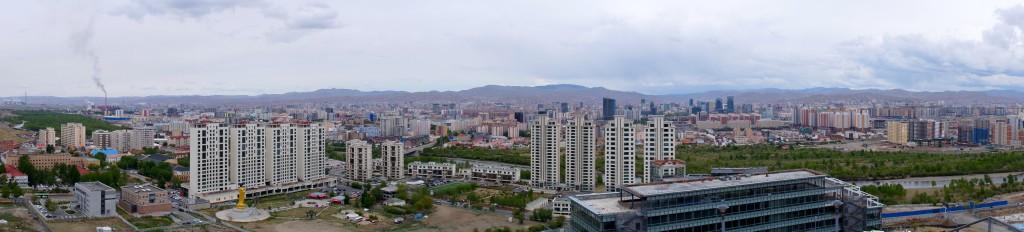 Blick auf Ulaanbaatar