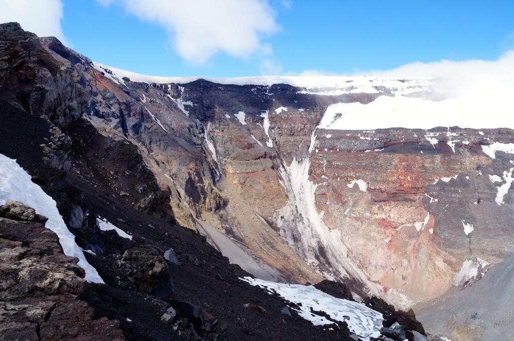 Vulkankrater Tolbatschik
